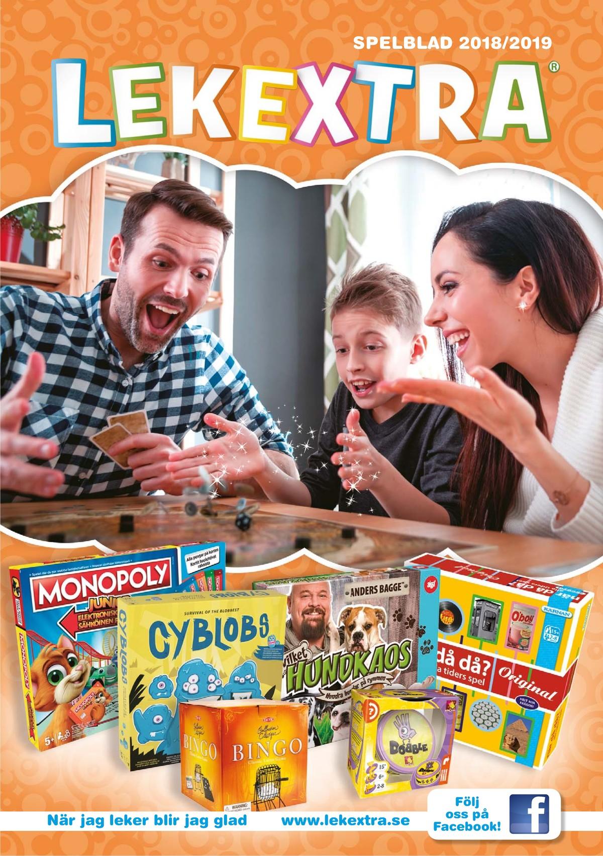 Se LEKEXTRA reklamblad för vecka 8 på Kampanjveckan.se. Här finna du bra erbjudanden på många varor. Läs reklambladet här! Sida 1