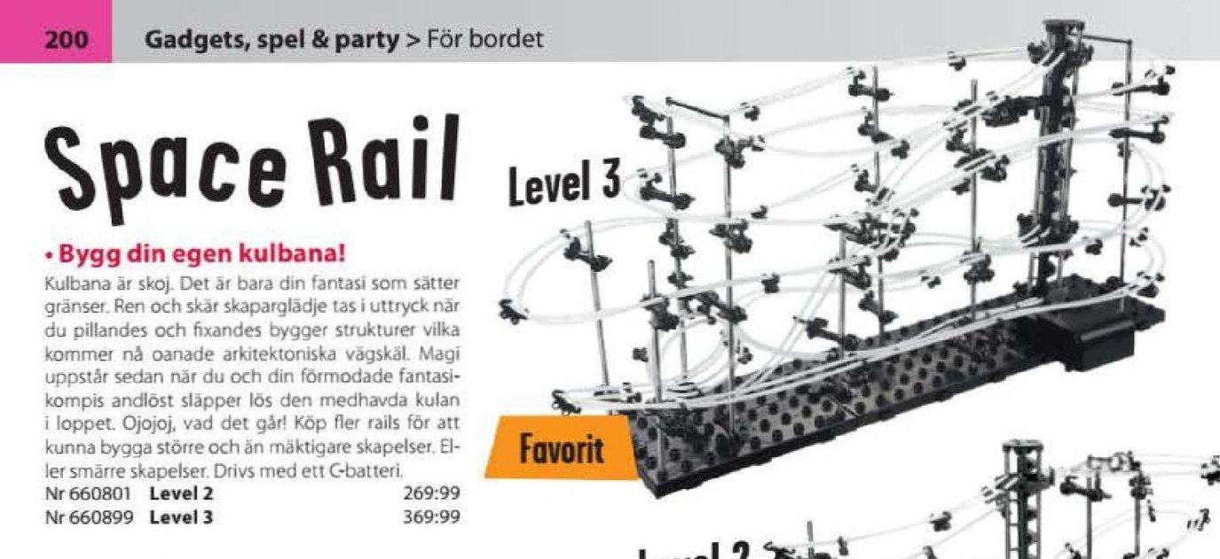 Erbjudanden och prisjämförelser på space rail level 2, leksaker  1 (st) 269,99